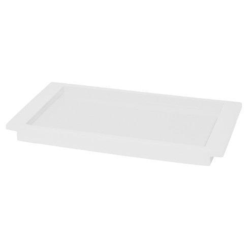 Lacquer Tray White - Cassadecor - image 1 of 1