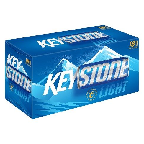 Keystone® Light Beer - 18pk / 12oz Cans - image 1 of 1