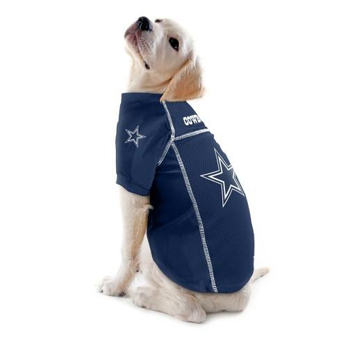 82d96ba91 Dallas Cowboys Little Earth Pet Football Jersey - Navy XS   Target