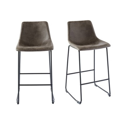 2pc Collins Metal Barstool Set - Picket House Furnishings