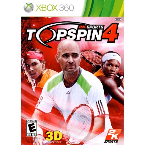 2K Sports Top Spin 4 PRE-OWNED Xbox 360 - image 1 of 1