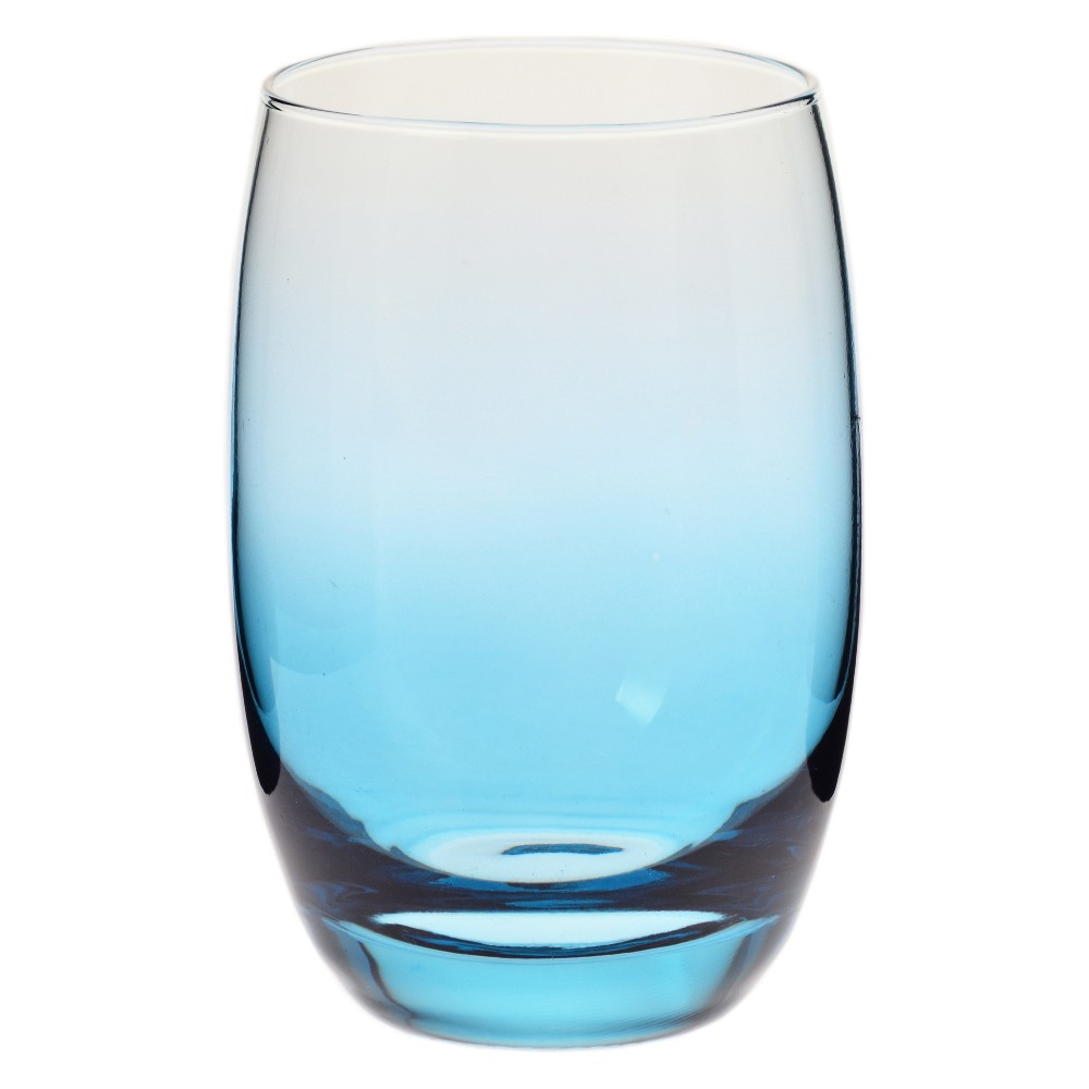 Image of Krosno 12oz Ombre Short Tumbler Blue