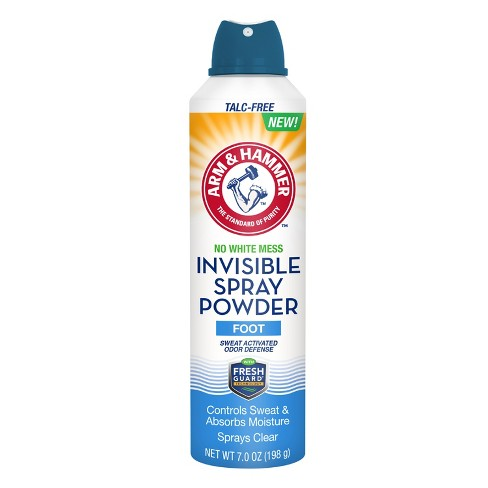 Arm & Hammer Invisible Spray Foot Powder - 7oz - image 1 of 1