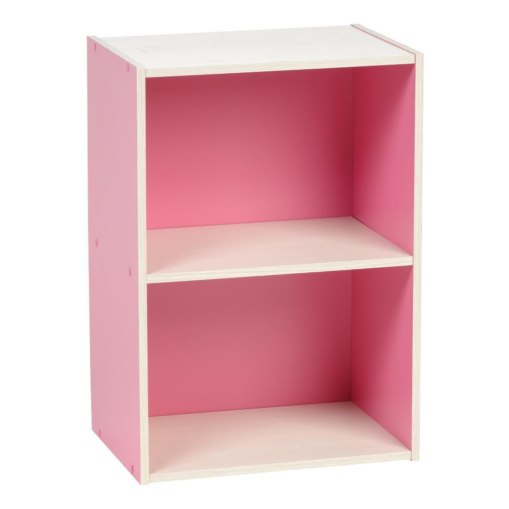 Iris 2-Tier Storage Shelf, Pink