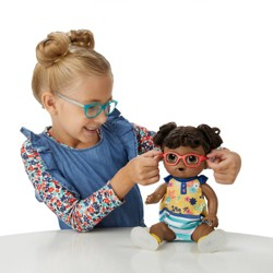 Baby Alive Step 'n Giggle Baby - Black Hair