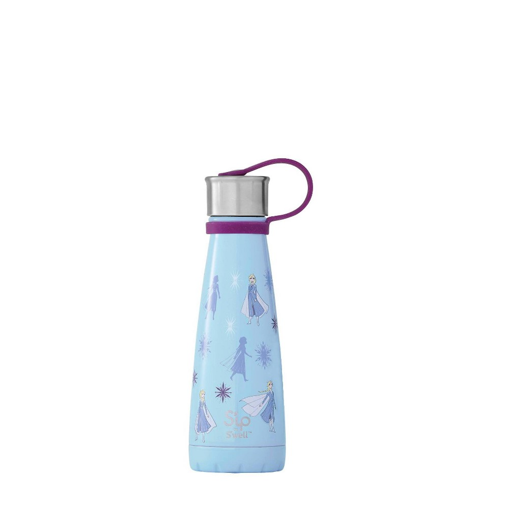 Image of Frozen 2 Queen Elsa of Arendelle 10oz Stainless Steel Water Bottle Blue - S'ip by S'well