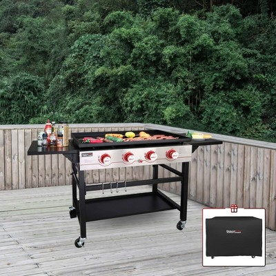 Royal Gourmet Regal 4-Burner Gas Griddle with Cover GB4000CG