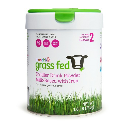 Munchkin Stage 2 Grass-Fed Milk-Based Toddler Drink with Iron - 25.6oz - image 1 of 3