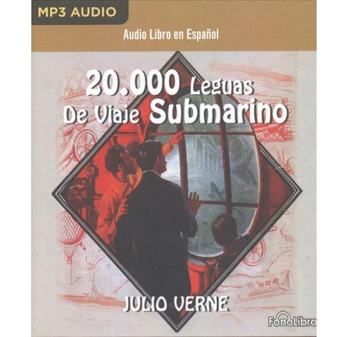 20,000 Leguas Viaje Submarino / 20,000 Leagues Under the Sea (MP3-CD) (Julio Verne) - image 1 of 1