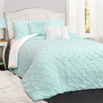 Ravello Pintuck Comforter Set - Lush Décor