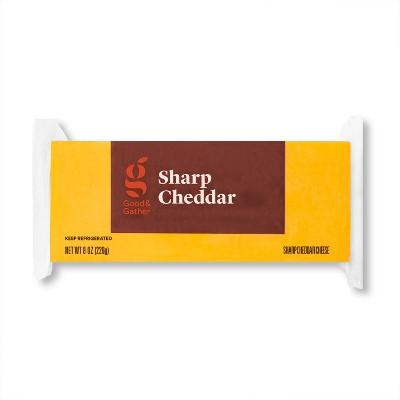Sharp Cheddar Cheese - 8oz - Good & Gather™