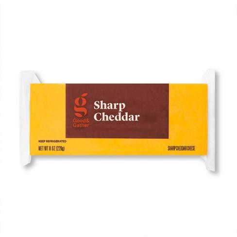 Sharp Cheddar Cheese - 8oz - Good & Gather™ - image 1 of 2