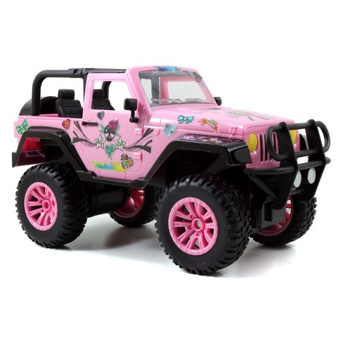 Pink Jeep Wrangler >> Girlmazing Rc Jeep Wrangler Pink Target