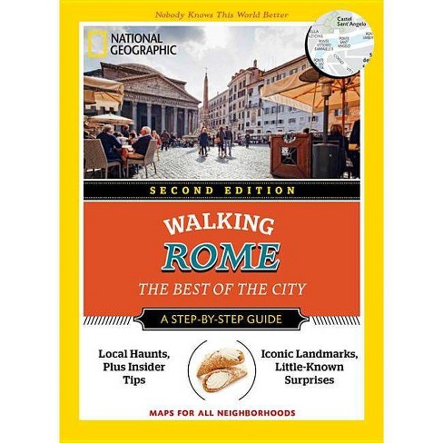 National Geographic Walking Rome - (National Geographic Walking Guide) 2 Edition by  Katie Parla - image 1 of 1