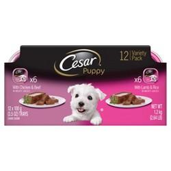 Cesar Canine Cuisine Puppy (Variety) - Wet Dog Food - 3.5oz/12pk