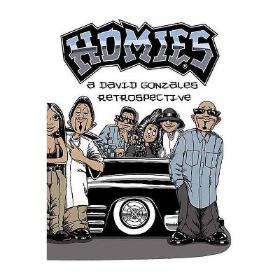 Homies: A David Gonzales Retrospective - (Hardcover)