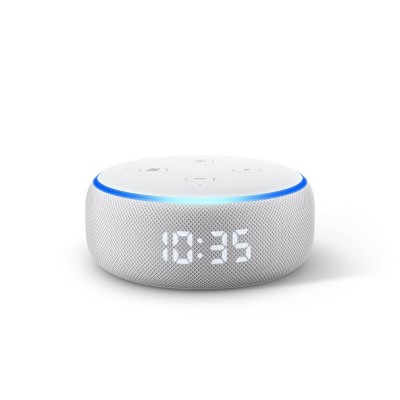 Amazon Echo Dot (3rd Gen)- With Clock - Sandstone