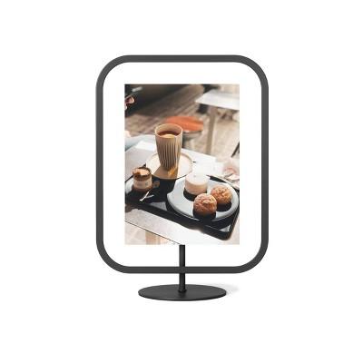 "5"" x 7"" Infinity Sqround Single Photo Display Frame Black - Umbra"