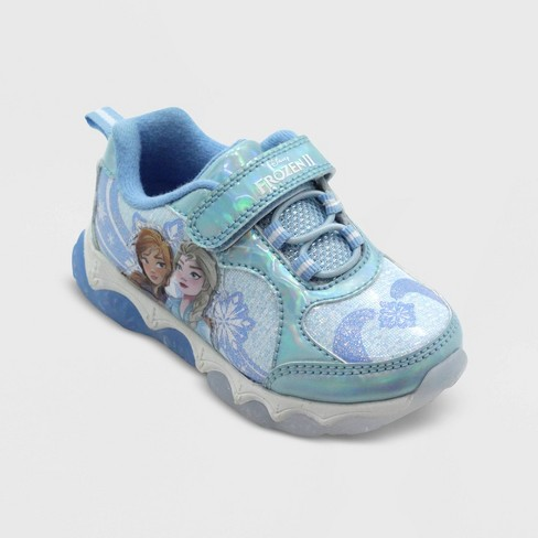 Toddler Girls' Frozen Athletic Sneakers - Blue - image 1 of 3