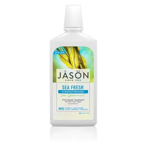 JASON Sea Fresh Strengthening Sea Spearmint Mouthwash - 16 fl oz - image 1 of 2