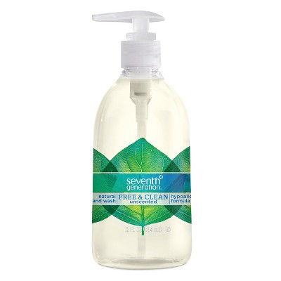 Seventh Generation™ Free & Clean Unscented Liquid Hand Soap - 12oz