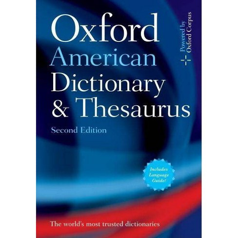 Oxford American Dictionary & Thesaurus, 2e - 2 Edition (Hardcover) - image 1 of 1