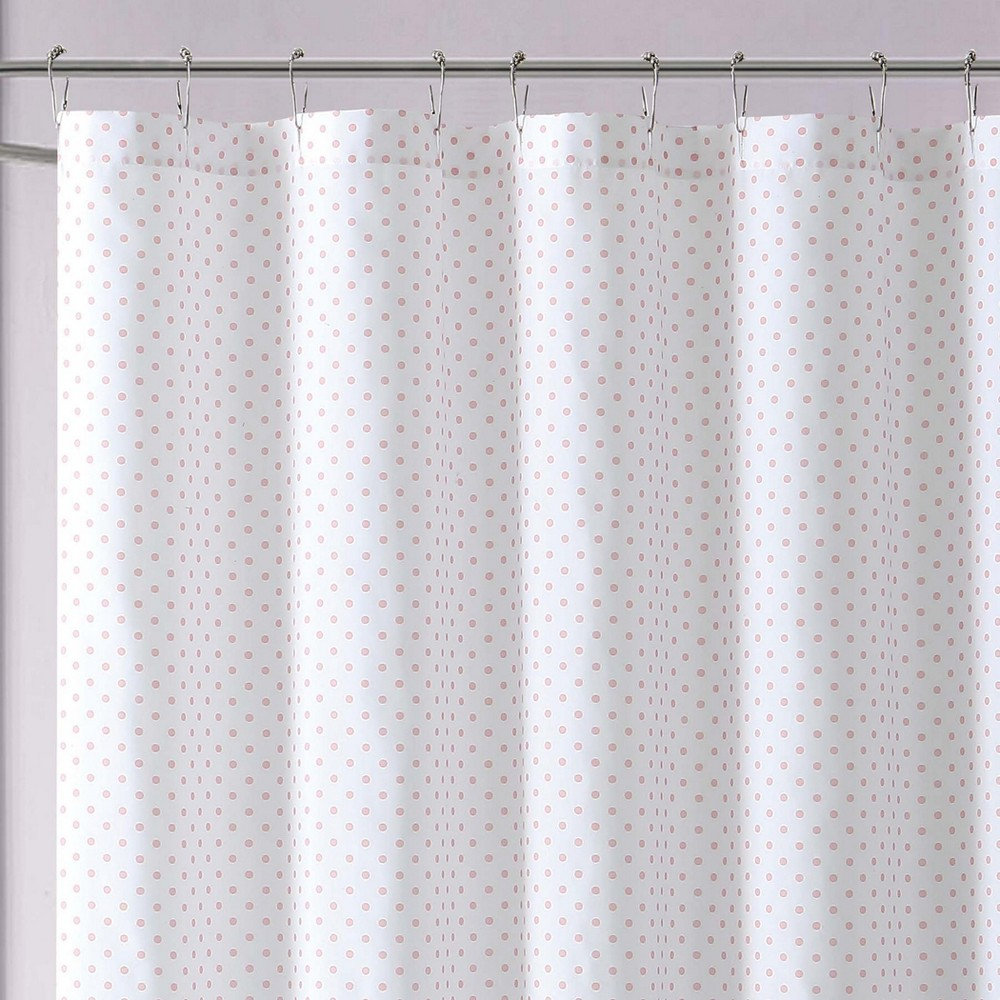Image of Anytime Dot Shower Curtain Pink - My World