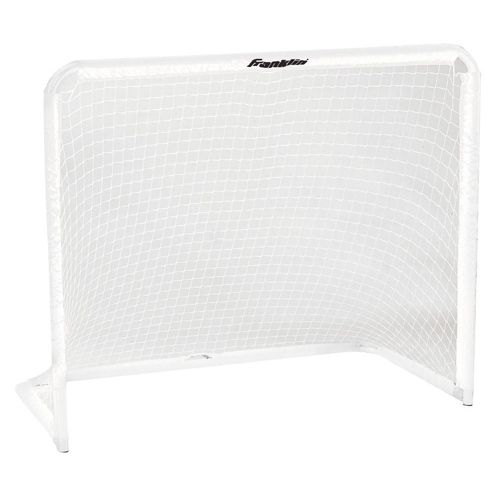 Franklin Sports All Purpose Steel 50 Soccer Goal, White