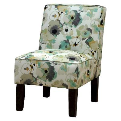 burke slipper chair gray threshold target rh target com Armless Lounge Chair Armless Computer Chair