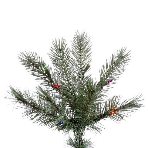 65ft pre lit artificial christmas tree full cashmere pine multicolored lights target - Cashmere Christmas Tree