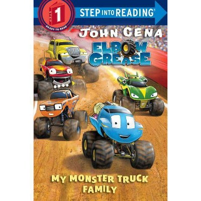 My Monster Truck Family - (Step Into Reading) by  John Cena (Paperback)