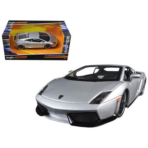 Lamborghini Gallardo Lp 560 4 Silver Exotics 1 24 Diecast Model Car