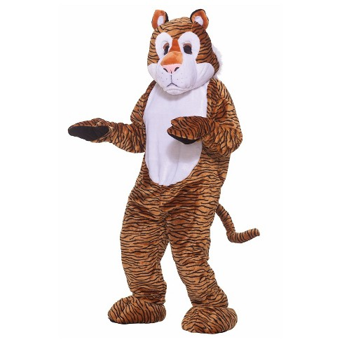 Tiger Deluxe Mascot Adult Costume - One Size Fits Most - image 1 of 1