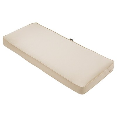 Montlake Fadesafe Patio Bench/Settee Cushion Antique Beige - Classic Accessories