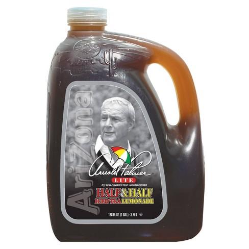 AriZona Arnold Palmer Lite Half Iced Tea & Half Lemonade - 128 fl oz Jug - image 1 of 4