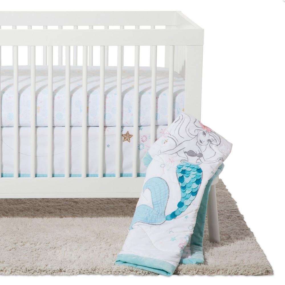 Image of Disney? Crib Bedding Set 3pc - Ariel Sea Princess