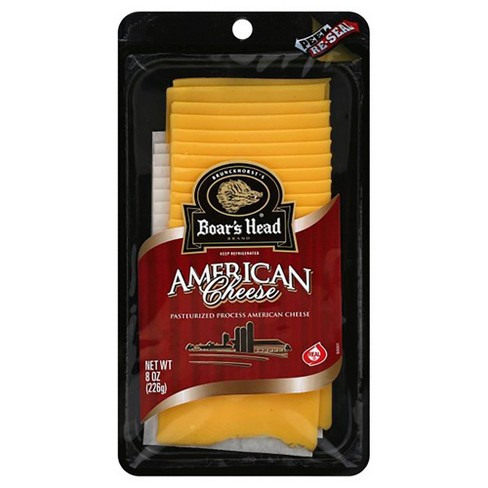 Boar's Head American Yellow Cheese - 8oz - image 1 of 1