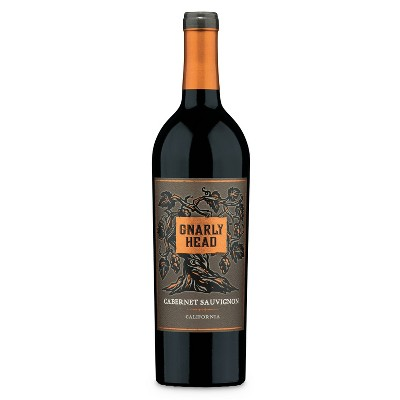 Gnarly Head Cabernet Sauvignon Red Wine - 750ml Bottle