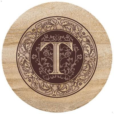 Thirstystone Monogram T Trivet