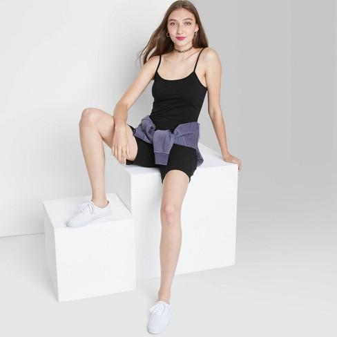 Women's Sleeveless Bike Short Bodysuit - Wild Fable™ - image 1 of 3