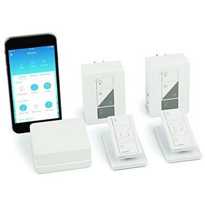 Lutron Caseta Wireless Deluxe Smart Lamp Dimmer Kit (P-BDG-PKG2P) - 2pc