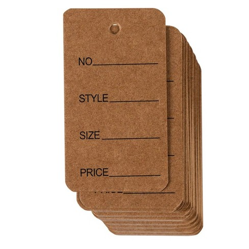 Price Tags 1000 pack Cloth Tags Garment Tags Writable Tags