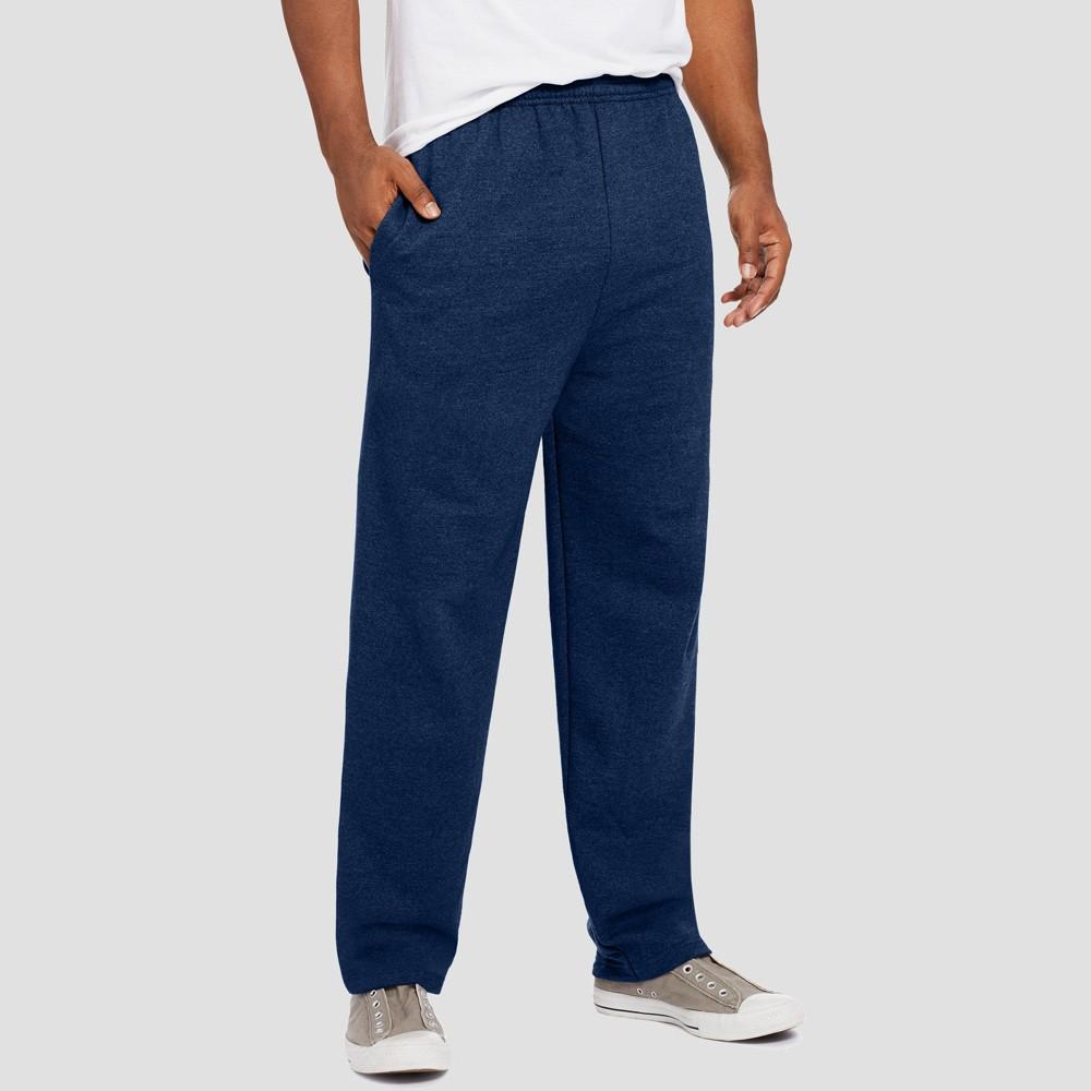 Hanes Men's EcoSmart Fleece Sweatpants - Navy (Blue) S