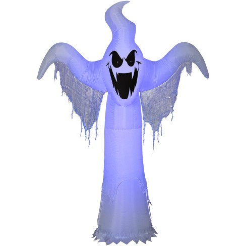 Gemmy Lightshow Airblown ShortCircuit Ghost OPP (Black Light), 6.5 ft Tall, white - image 1 of 2