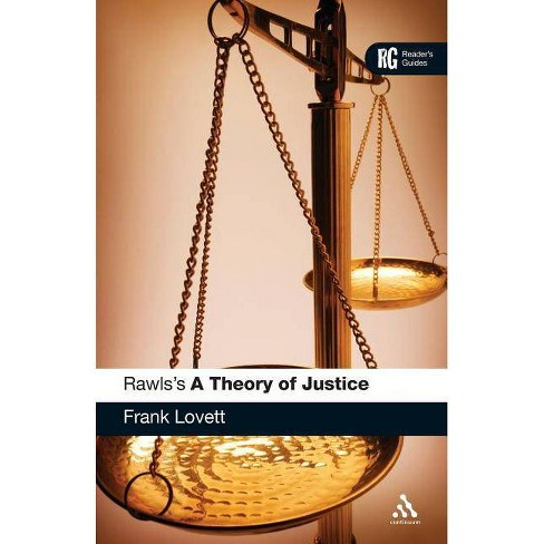 Rawls's 'a Theory of Justice' - (Reader's Guides) by  Frank Lovett (Paperback) - image 1 of 1
