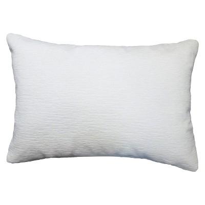 Solid Throw Pillow Lumbar Cream - Threshold™