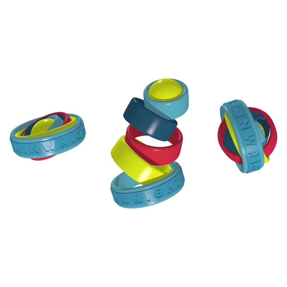 Brainwright Gyrings Fidget Toy, Multi-Colored