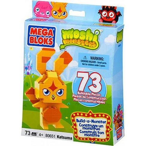 Mega Bloks Moshi Monsters Build-a-Monster Katsuma Set #80651 - image 1 of 3