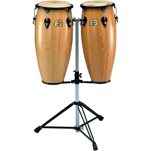 Pearl Primero Conga Set with Twin Stand Natural - image 1 of 1