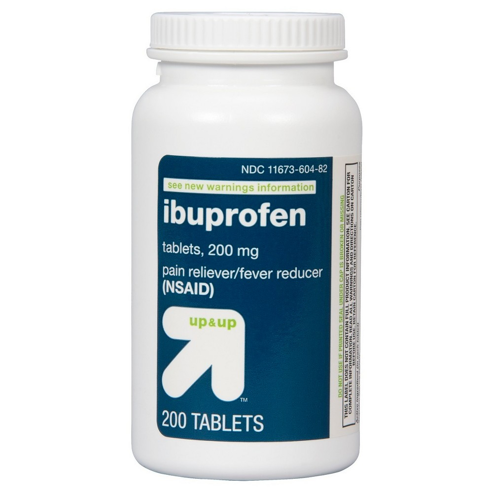 Ibuprofen Nsaid Pain Reliever 38 Fever Reducer Tablets 200ct Up 38 Up 8482